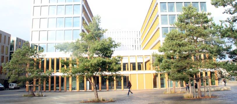 Le siège de Rennes Métropole, situé boulevard Clémenceau.