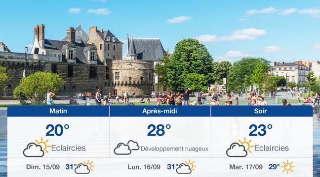 Météo Nantes: Prévisions du samedi 14 septembre 2019 - 20minutes.fr