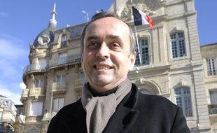 Robert Ménard, maire de Béziers, le 28 janvier 2014.