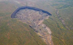 Le cheval a été découvert dans le cratère de Batagaika, en Sibérie.