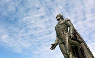 Une statue de Christophe Collomb. (Illustration)