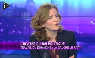 Nathalie Kosciusko-Morizet sur iTélé le 23 novembre 2014.