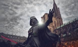 Le photographe strasbourgeois Lucas Cornut a fait une série de dix clichés «When Star Wars meets Strasbourg».