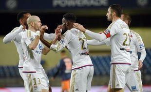 En pleine réussite actuellement, à l'image de leurs 8 victoires sur les 10 dernières journées de Ligue 1, l'OL a récupéré la deuxième place vendredi dernier à Montpellier (0-2). ANNE-CHRISTINE POUJOULAT