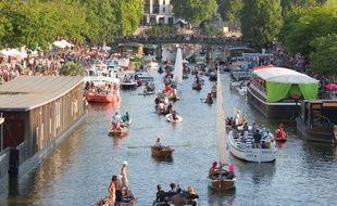 Nantes, le festival des Rendez-vous de l'Erdre.