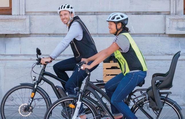 L'airbag pour vélo B'Safe coûte 650 euros quand même...
