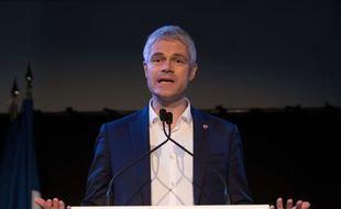 Laurent Wauquiez, président de LR, le 10 décecmbre 2017 à Paris