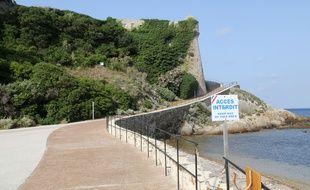 Le Fort de Brégançon, résidence présidentielle