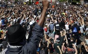 A Minneapolis, une manifestation contre le racisme le 30 mai 2020