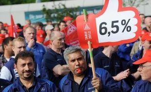Les conflits salariaux se multiplient en Allemagne, où les salariés veulent enfin cueillir les fruits de 15 années d'austérité face au patronat qui s'inquiète d'un ralentissement de la conjoncture.