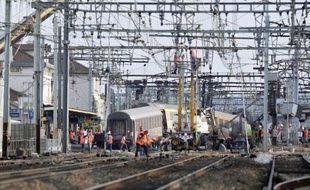 Le 12 juillet 2013, un train a déraillé en gare de Brétigny-sur-Orge, près de Paris, faisant 7 morts