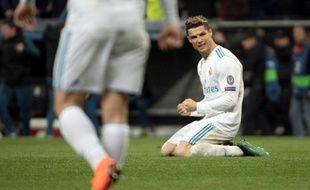Cristiano Ronaldo soulagé après la victoire madrilène.