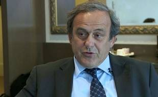 Michel Platini le 7 janvier 2016.