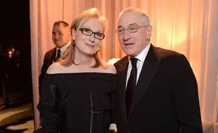 Meryl Streep et Robert De Niro, le 18 janvier 2014.