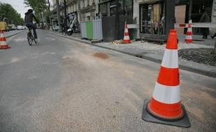 L'accident mortel est survenu à hauteur  au 92 boulevard de Sébastopol, en plein Paris, aux alentours de 4h du matin.