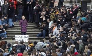 Discours de Greta Thunberg en Lausanne