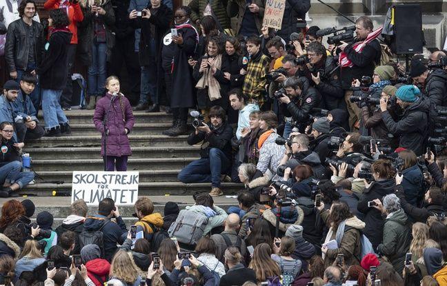 Grève du climat : Avant Davos, Greta Thunberg à Lausanne avec des milliers de jeunes