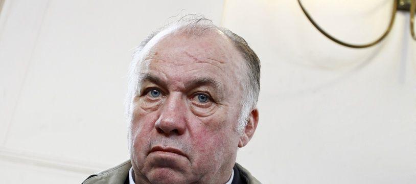 Dominique Alderweireld, dit «Dodo la Saumure», au tribunal Tournai (Archives).