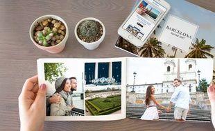 Au format 15x20, le livre Photobooks peut contenir jusqu'à 6 photos par page.