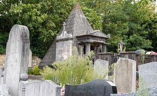 Le cimetière de Loyasse à Lyon.