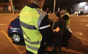 Opération de la Gendarmerie Nationale sur les routes du Departement de Haute-Garonne.