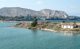 Le port militaire grec de Salamine (illustration).