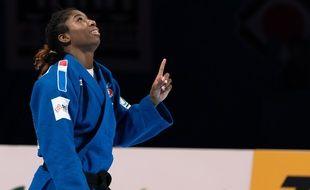 Marie-Eve Gahié a été sacrée championne du monde en -70 kg à Tokyo, le 29 août 2019.