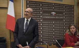 Gérard Collomb devant la commission des Lois de l'assemblée nationale, transformée pour l'occasion en commission d'enquête parlementaire pour l'affaire Benalla.