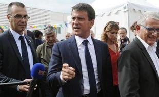 Manuel Valls le 28 août 2014 à La Rochelle