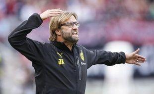 L'entraîneur de Dortmund, Jürgen Kloppn, le 21 septembre 2013