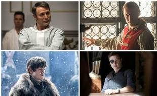 Hannibal de « Hannibal », Le Gouverneur de « The Walking Dead », Ramsay Bolton de « Game of Thrones » et Black Jack Randall d'« Outlander » concourent dans la catégorie personnages les plus flippants des années 2010.