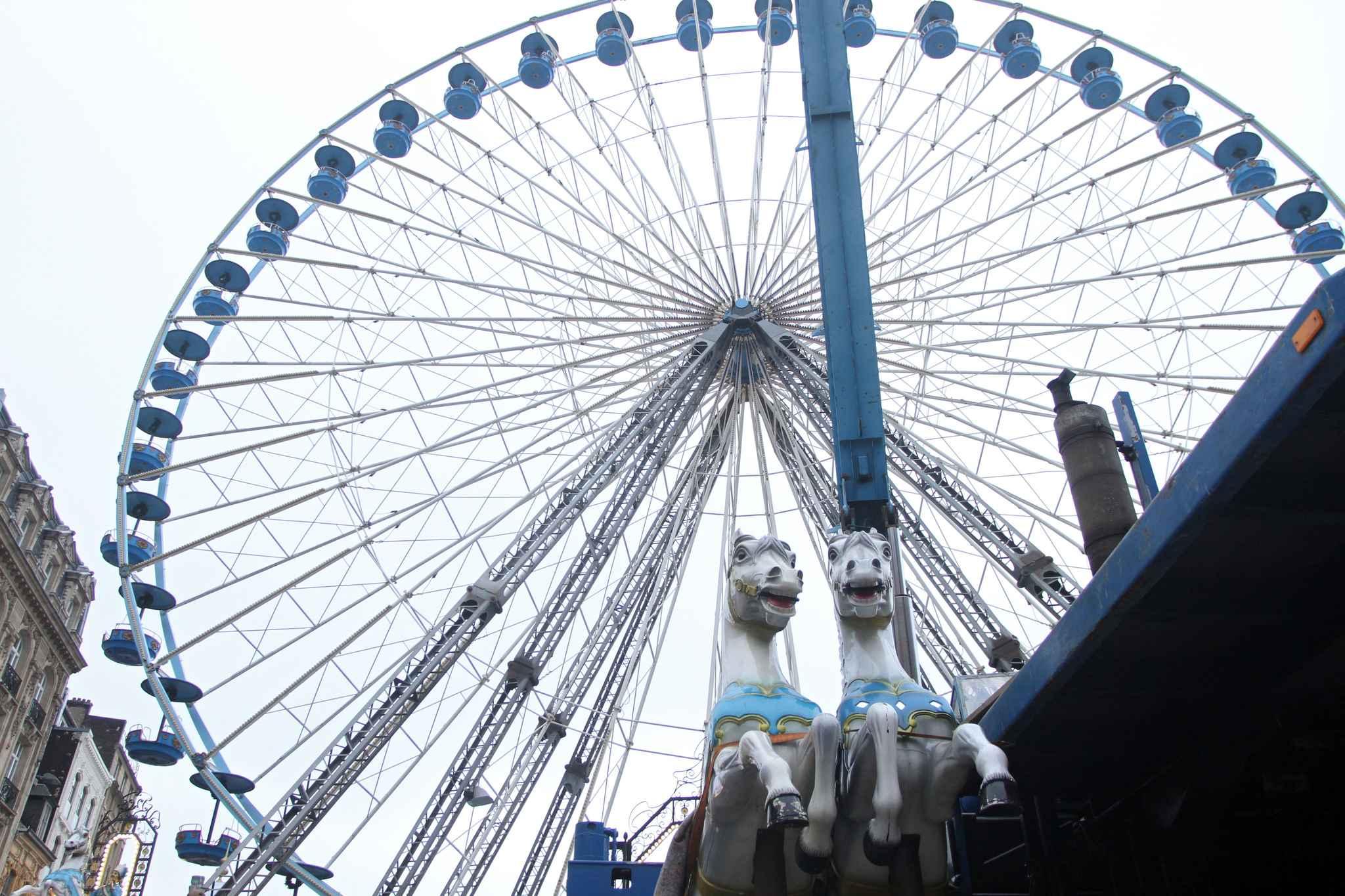 50 personnes bloquées dans la grande roue — Amiens