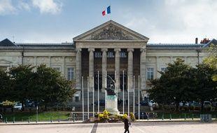 Le palais de justice d'Angers.