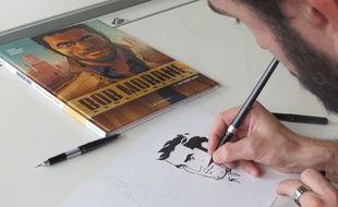 Dimitri Armand est le dessinateur des nouvelles aventures de Bob Morane..