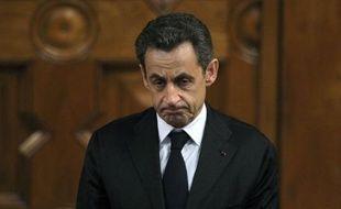 """Nicolas Sarkozy a reconnu vendredi les """"injustices"""" dont la France s'est rendue coupable à l'endroit des harkis, et soigné son image auprès des rapatriés d'Algérie, avec l'ambition de regagner les suffrages d'une communauté pied-noir que lui dispute âprement le Front national."""