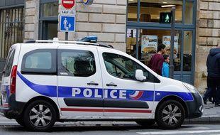 Une voiture de police à Bordeaux (illustration).