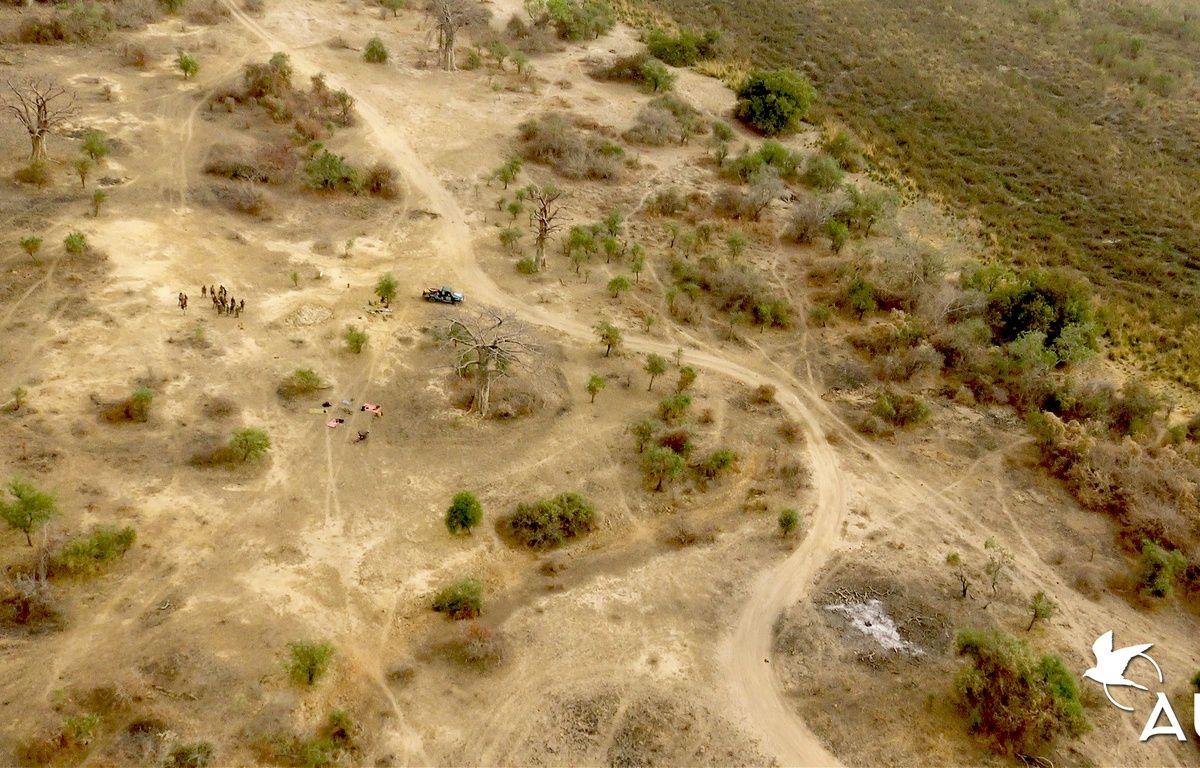 Au mois de mars 2017, Julien Lerch a pu tester son drone au Niger. – Julien Lerch / Ihmati.
