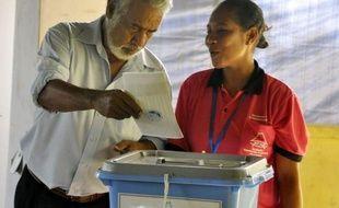 Le Timor oriental votait samedi pour des législatives à l'issue incertaine dans ce confetti d'Asie du Sud-Est meurtri par des décennies de violences où l'exécutif va bientôt devoir gouverner sans l'aide des Casques bleus.