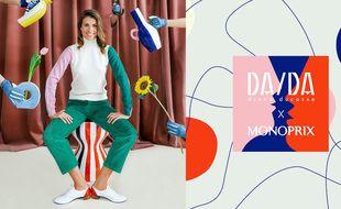 Découvrez la nouvelle collaboration Monoprix x DA/DA, dès le 17 février, en boutique et sur le site Monoprix.