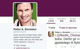 Le patron de la chaîne Nordic Choice.
