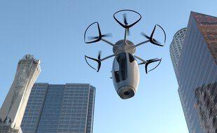 Des capsules volantes pour se déplacer en ville, dès 2025