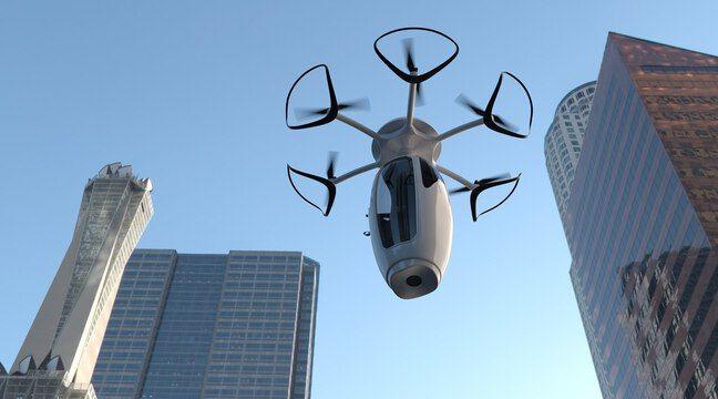 VivaTech: La start-up française Caps dévoile un projet de capsules volantes pour 2025