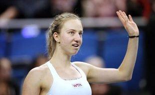 L'Allemande Mona Barthel a battu la Française Kristina Mladenovic en deux sets (6-1, 6-4), samedi en demi-finales de l'Open GDF-Suez et retrouvera l'Italienne Sara Errani pour le titre dimanche à Coubertin.