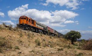 Le train reliait Yaoundé à Douala (illustration).