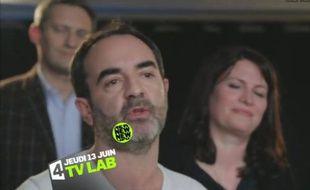 BrunoSolo a présidé le jury duTVLab. Il présente les trois soirées du TV Lab sur France 4, les 13, 20 et 27 juin.