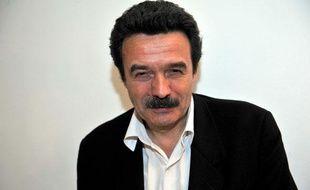Edwy Plenel, le président du site d'informations «Mediapart», le 18 février 2010 à Paris.