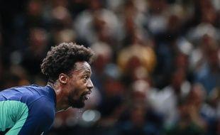 Gaël Monfils s'est fait croquer par Shapovalov en quart de finale à Bercy.