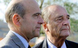 Juppé et Chirac en 2007