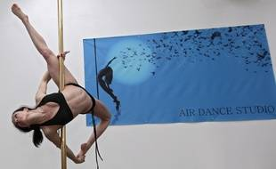 L'école de pole dance «Air Dance Studio», à Lille.