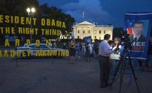Bradley Manning, condamné à 35 ans de prison pour la plus grande fuite de documents secrets de l'histoire des Etats-Unis, a déposé un recours en grâce mardi auprès du président Barack Obama, a annoncé son avocat.